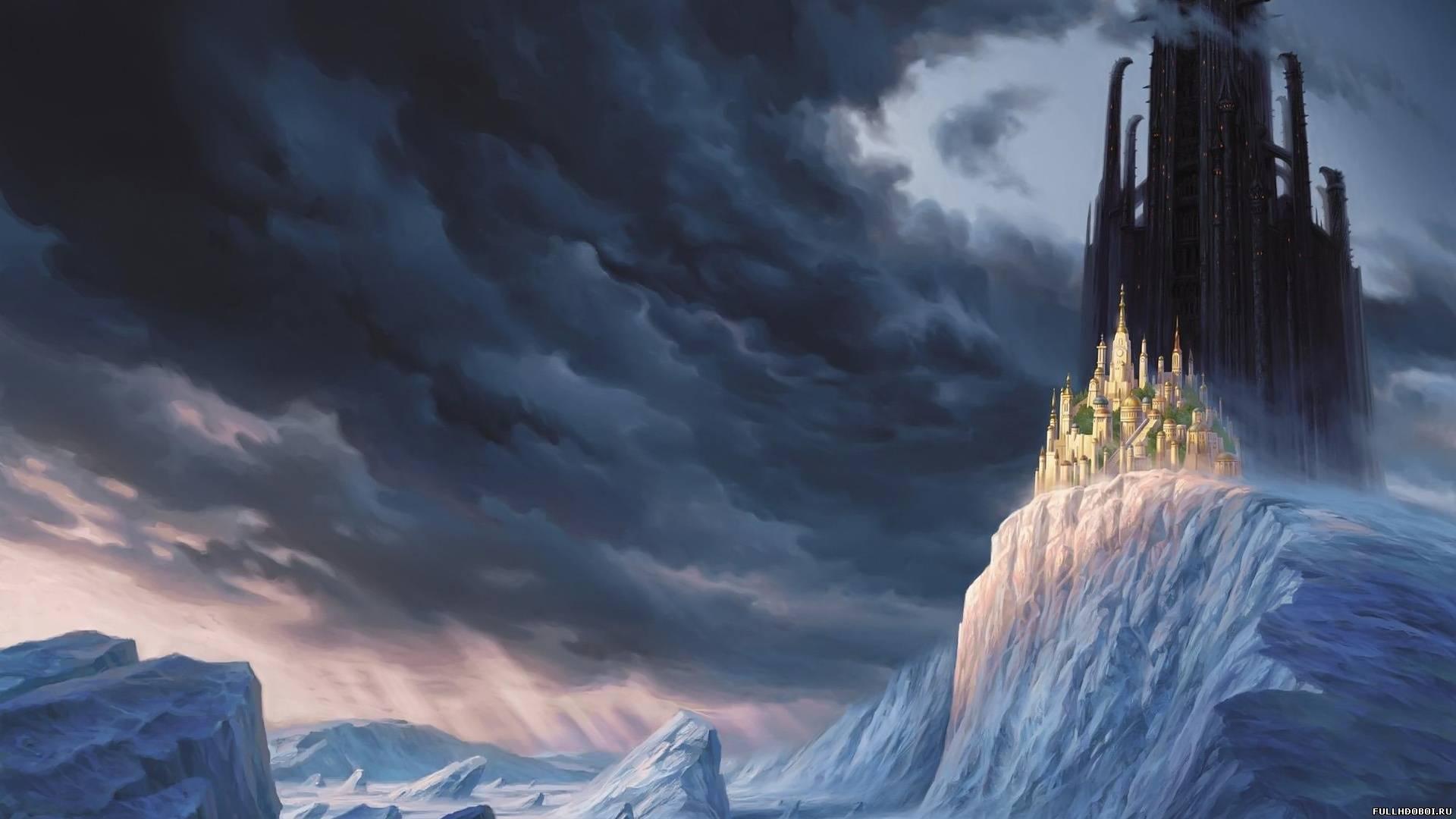 Обои замок, скалы. Разное foto 8