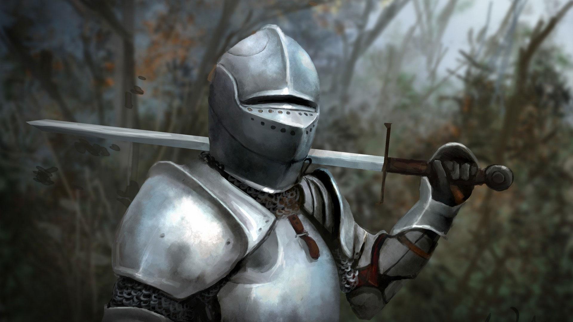 Обои Рыцарь, шлем, доспехи. Разное foto 18
