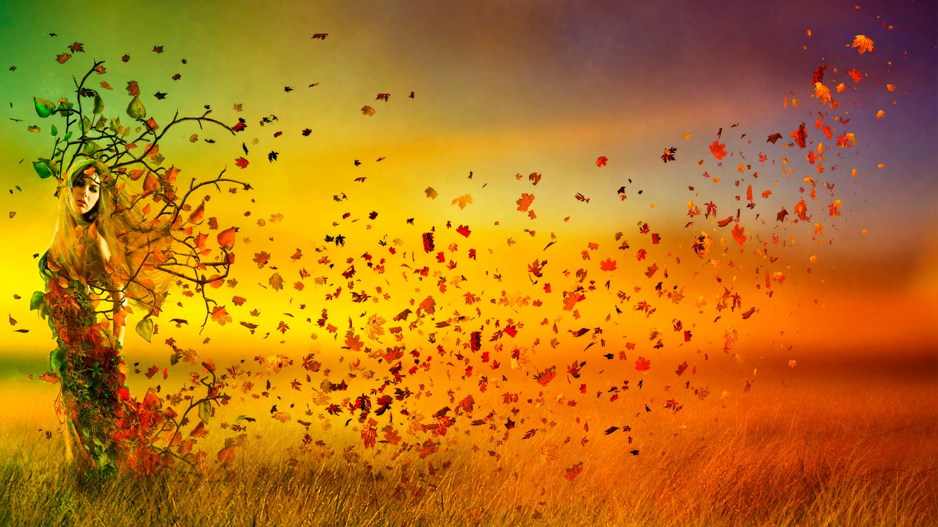 популярными картинки осень фэнтези стало