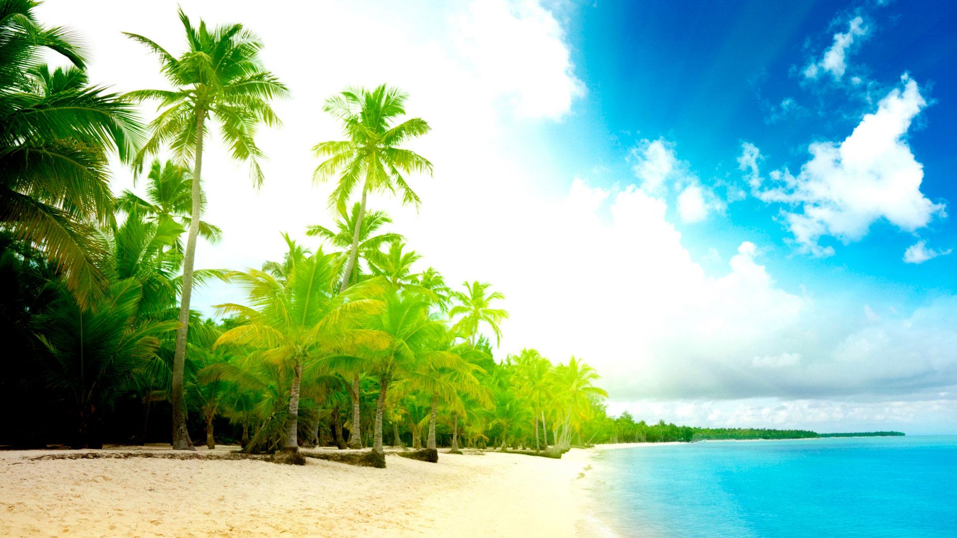 Фото море и пляж на рабочий стол