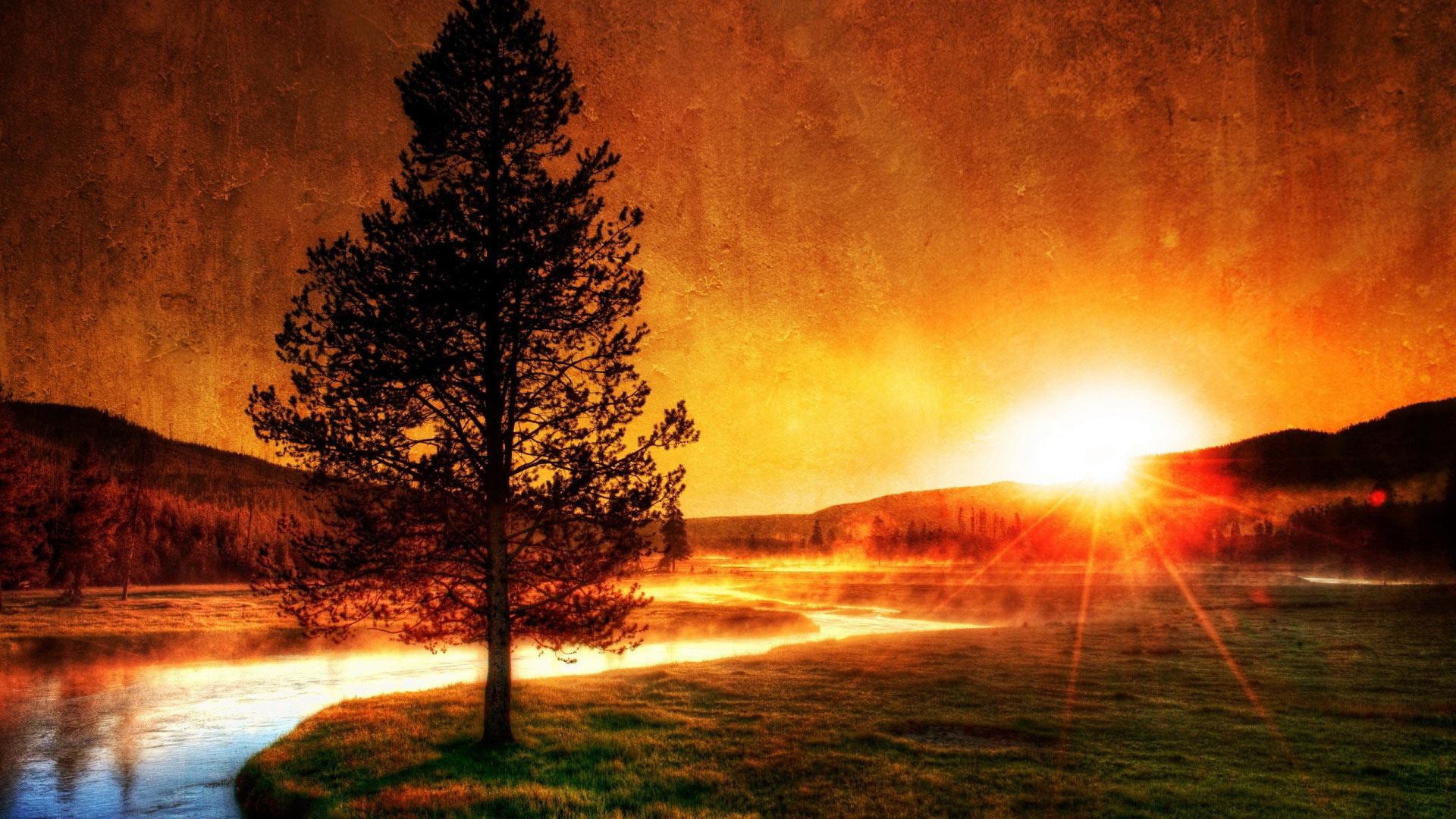 Вечерний закат. Самое интересное - Фото Дом Солнца
