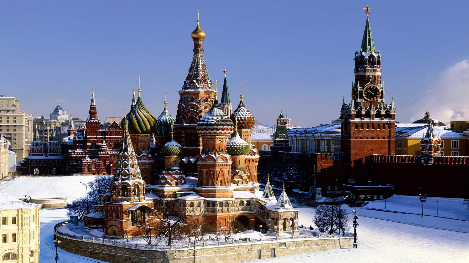 Обои россия, красная площадь. Города foto 14