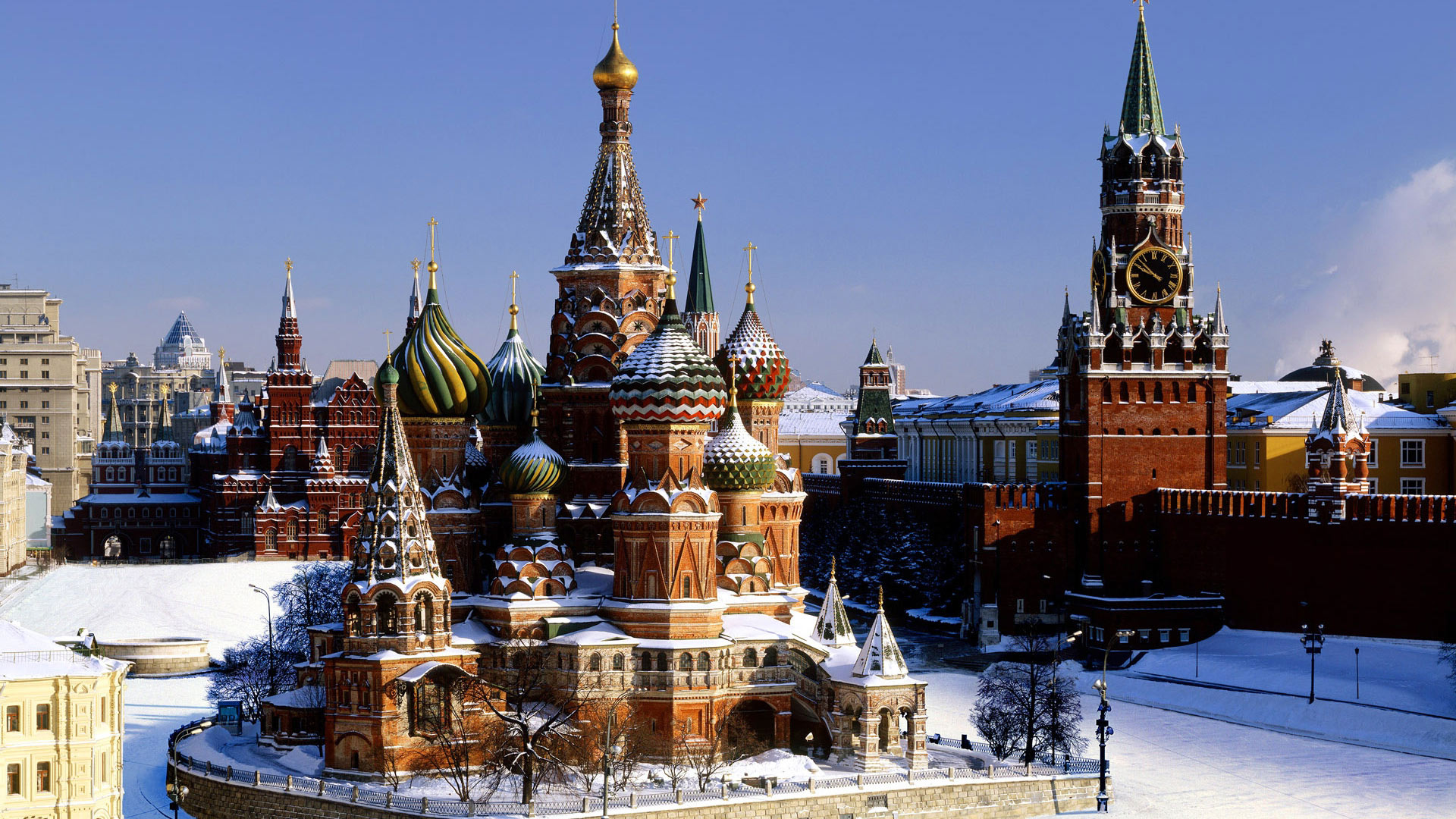 Обои moscow, кремль. Города foto 14