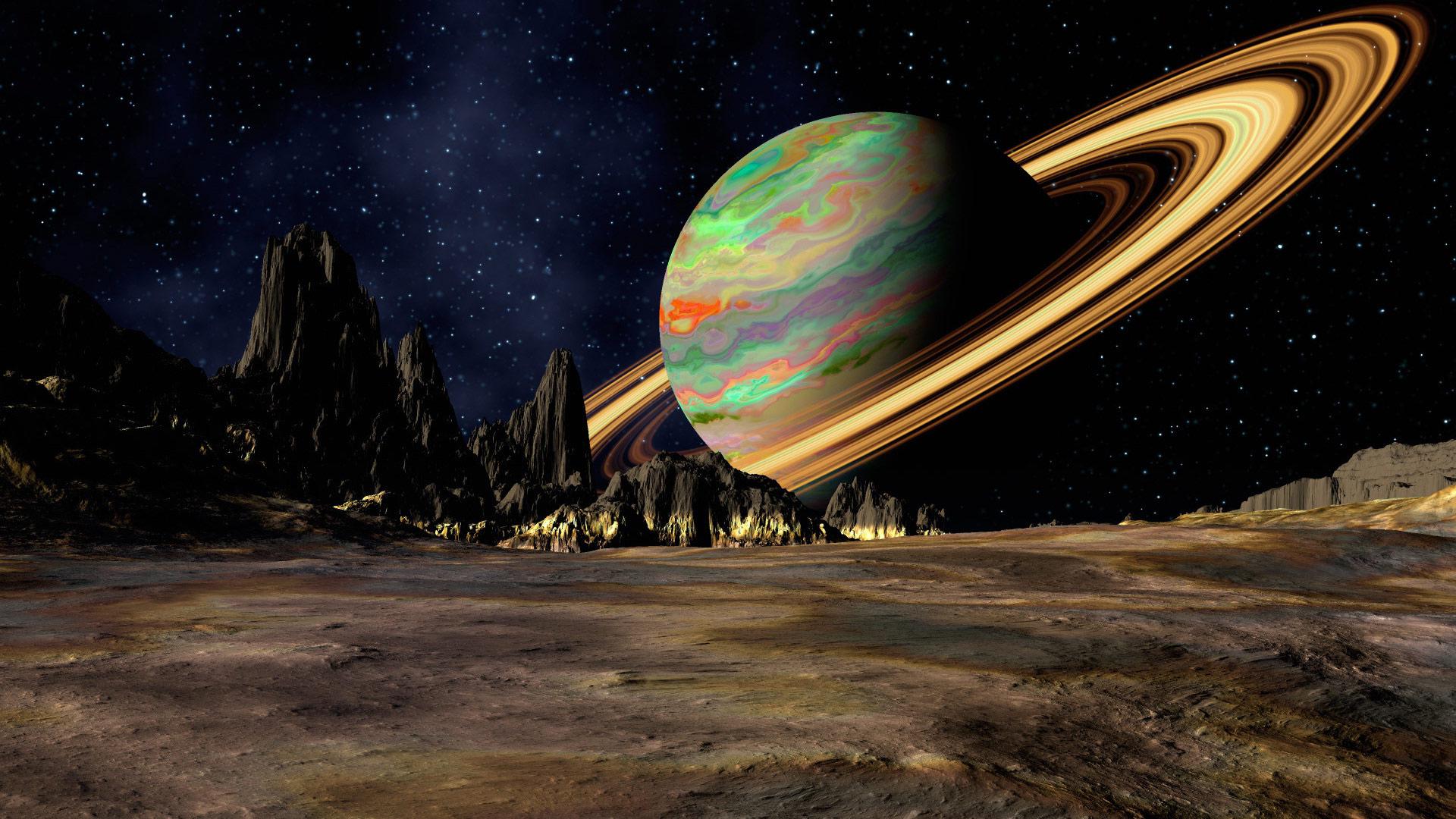 Космические пейзажи фото
